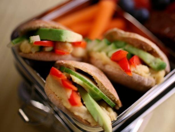 veggie stack pita pockets recipe pita pockets lunches and food
