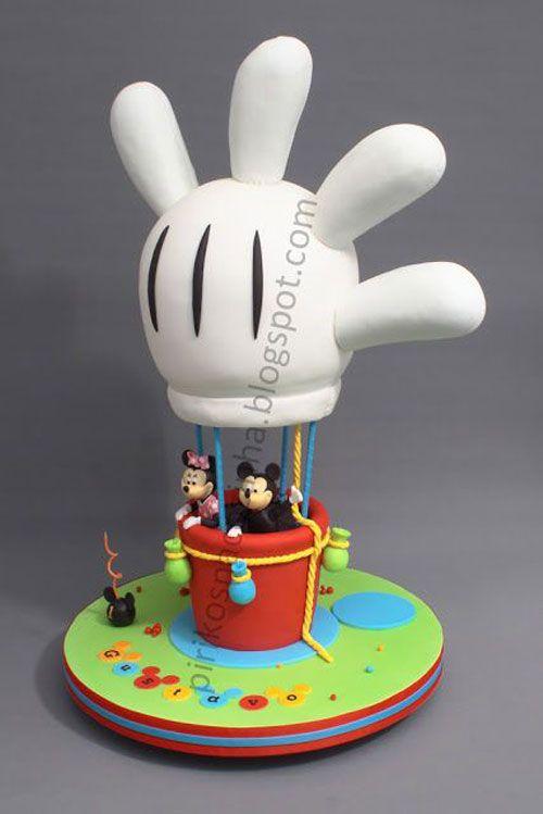 Torte di minnie per compleanni di bambine torte torta di