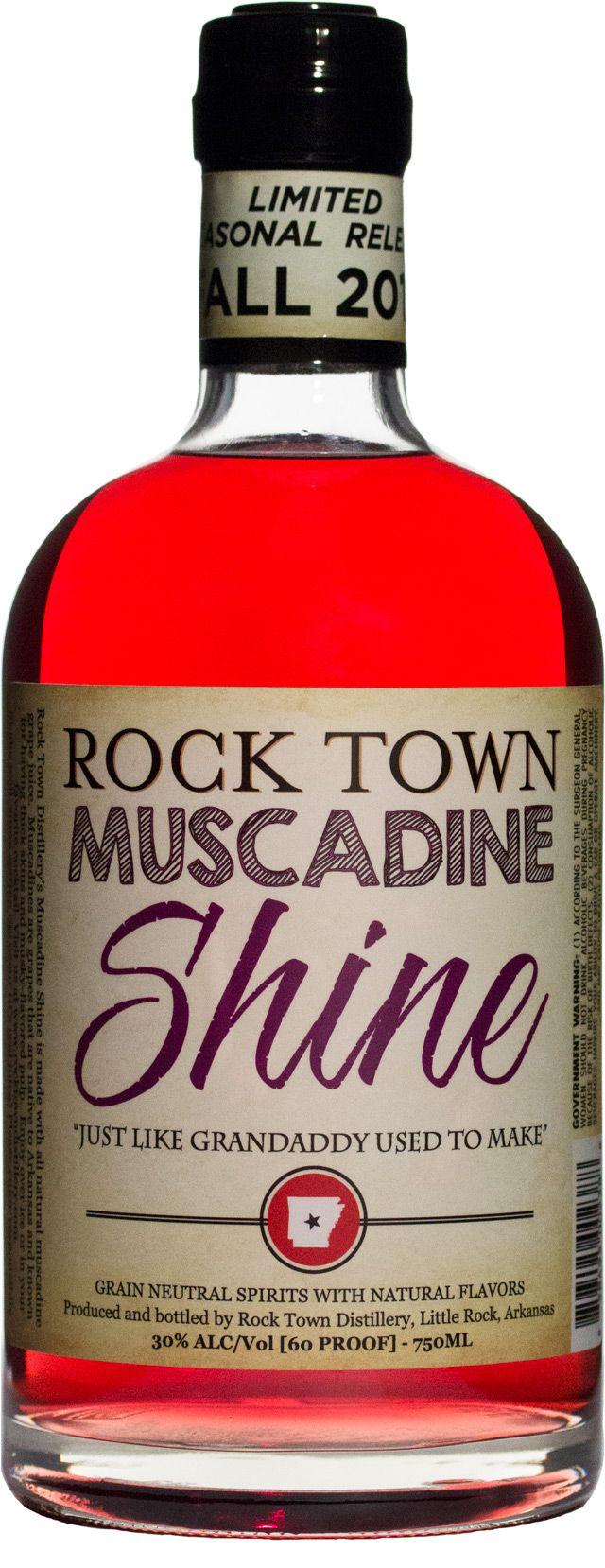 Our New Seasonal Release Muscadine Shine Whiskey Bottle Bottle