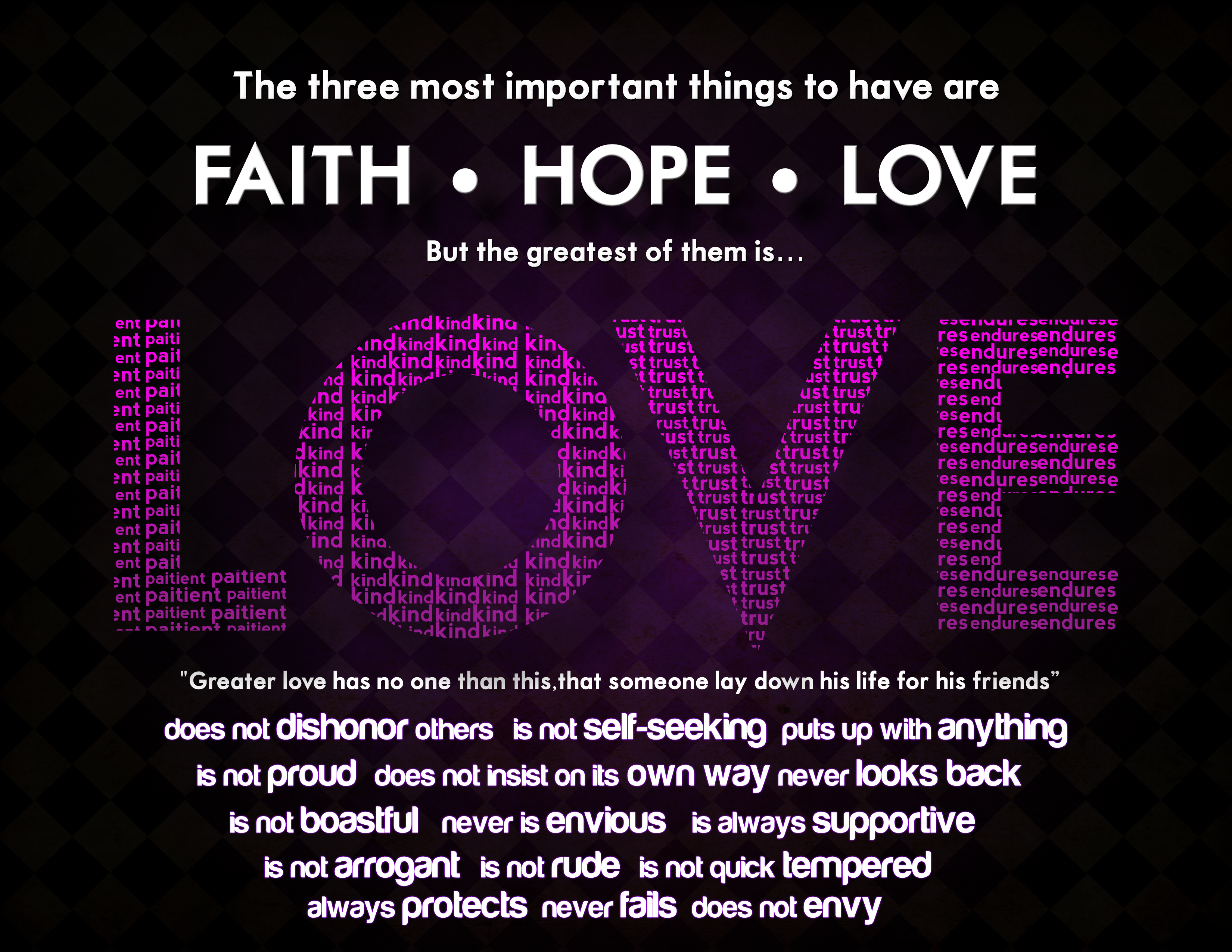 Faith Love Hope Quotes Faithlovehope Romans 12 And