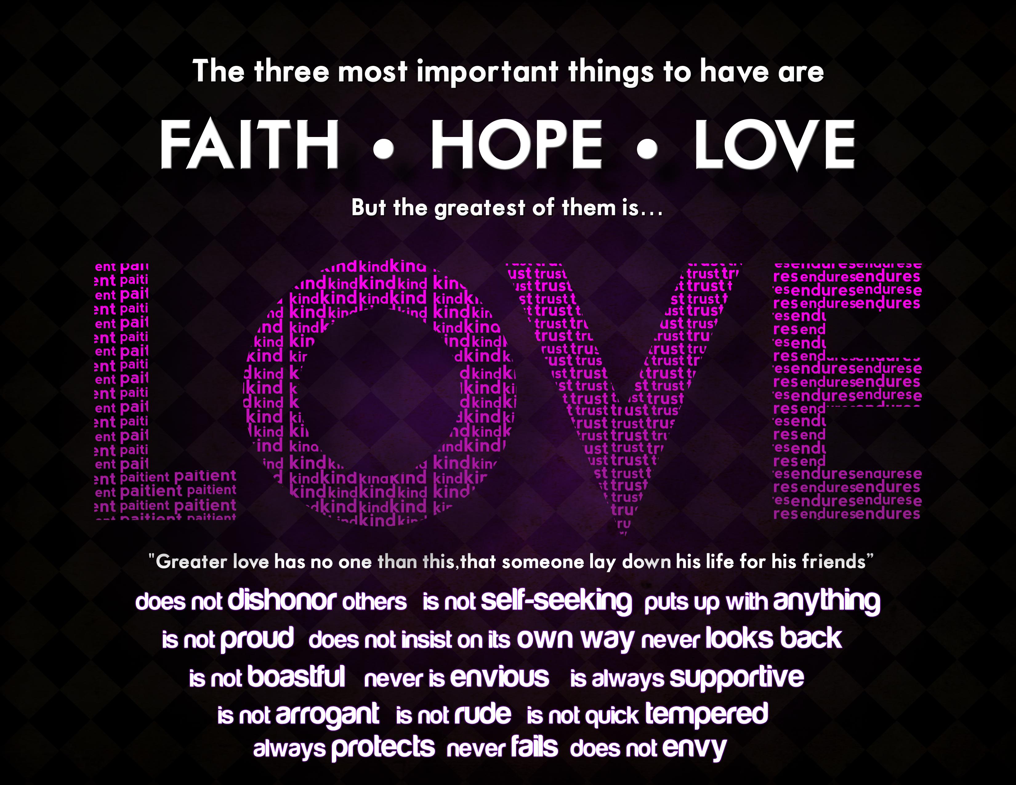 Inspirational Quotes About Faith And Love Faithlovehope  Faith Romans 12 12 And Romans 12