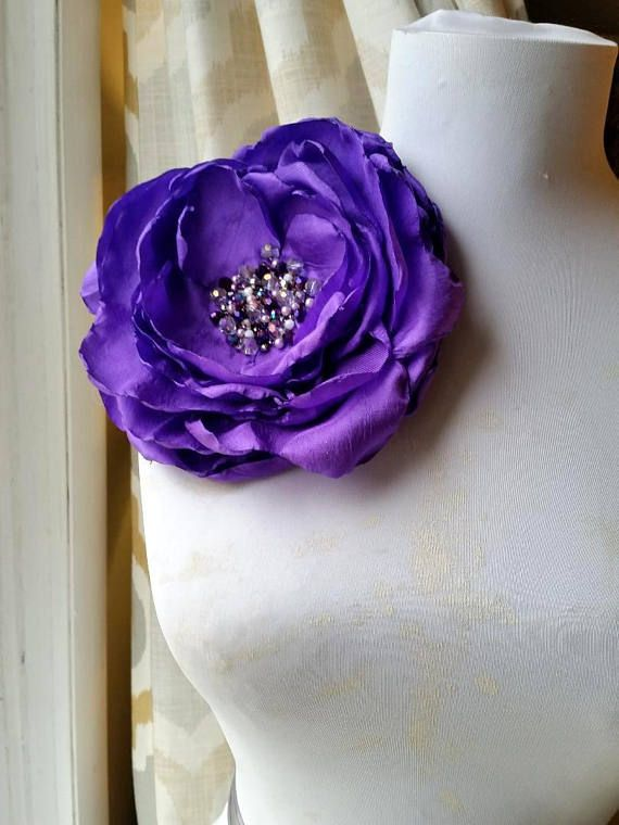 2018 pantone ultra violet purple silk flower pins statement piece 2018 pantone ultra violet purple silk flower pins statement piece extra large fabric flower brooches flowers for dresses big pin si mightylinksfo