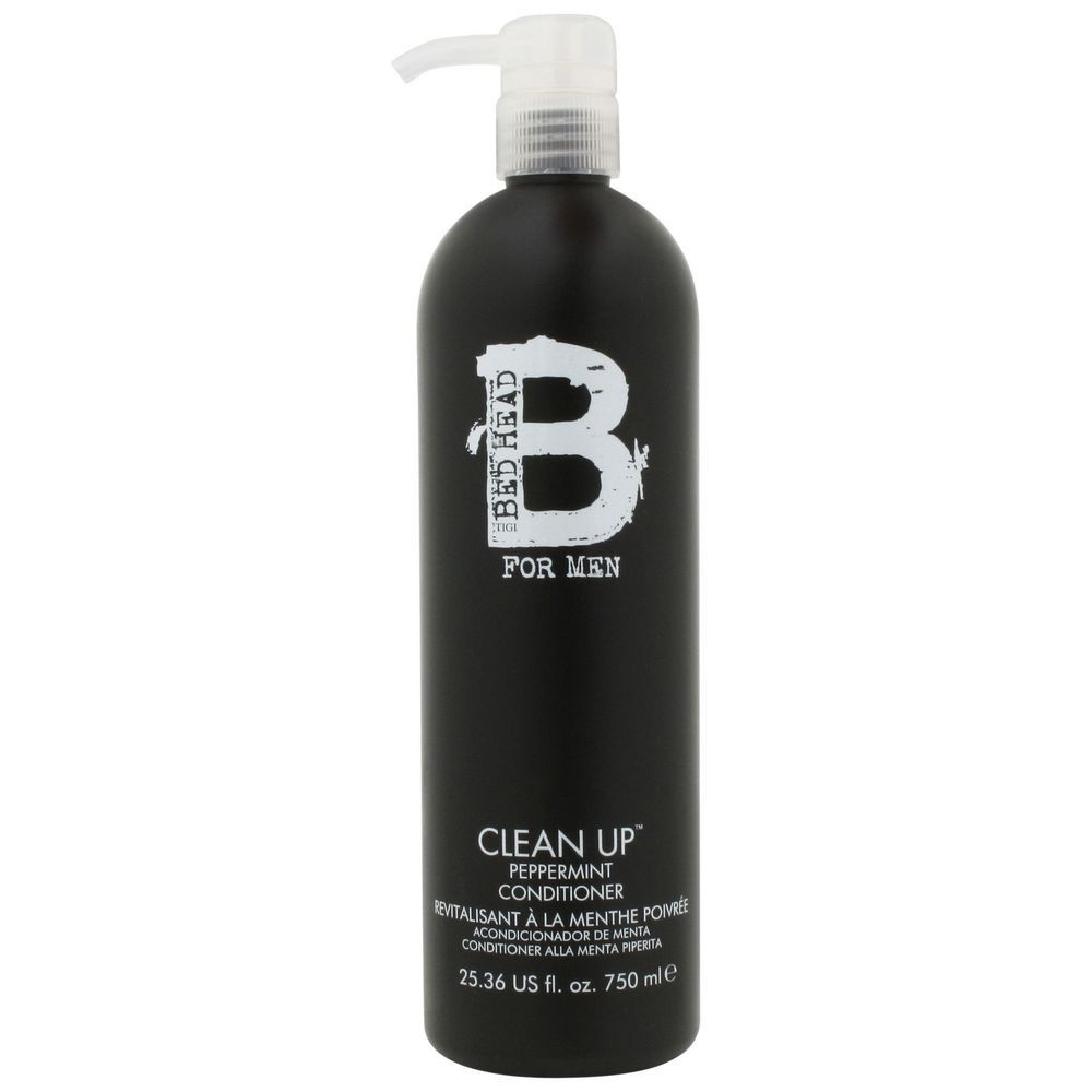 TIGI Bed Head Hair Care for Men Clean Up Peppermint Conditioner 750ml for him