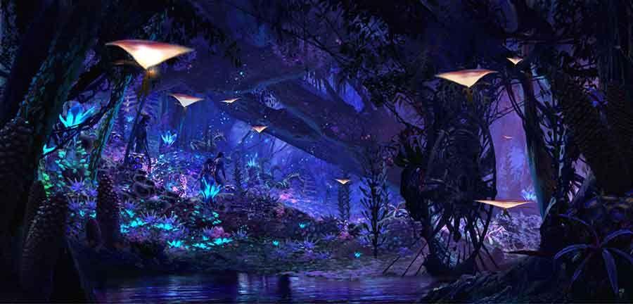Oandora The World of Avatar Disney's Animal Kingdom Orlando