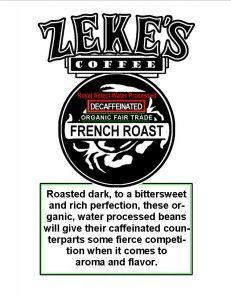Decafs Zeke S Coffee Decaf Coffee Baking Muffins Coffee