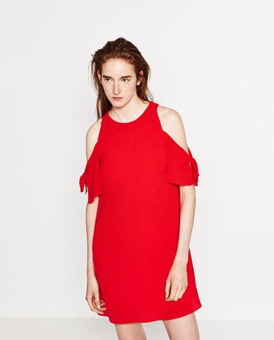 Imagem 1 de VESTIDO CREPE da Zara