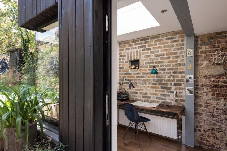 Thuiskantoor Uitbouw Tuin : Thuiskantoor in uitbouw in de tuin def bouwmaterialen pinterest