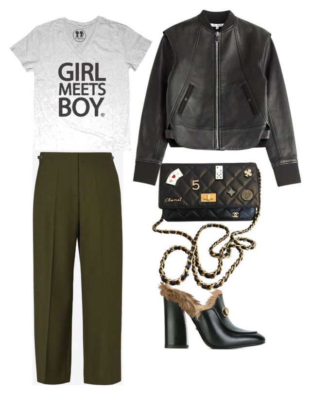 """""""Fashion 😘"""" by indahhalit on Polyvore featuring Paco Rabanne, Maison Margiela, Gucci and Chanel"""