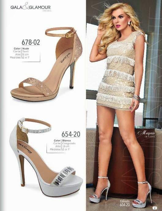 a8f15e39bd6 Zapatos de lujo con detalles de Pedreria   Cklass Primavera Verano 2015