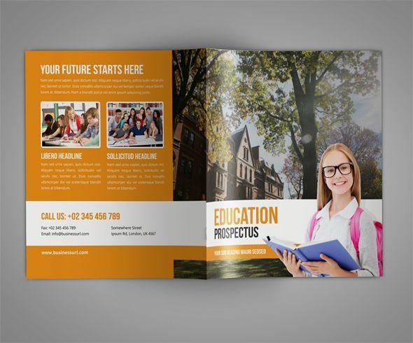 100 amazing free education brochure template designs 12000