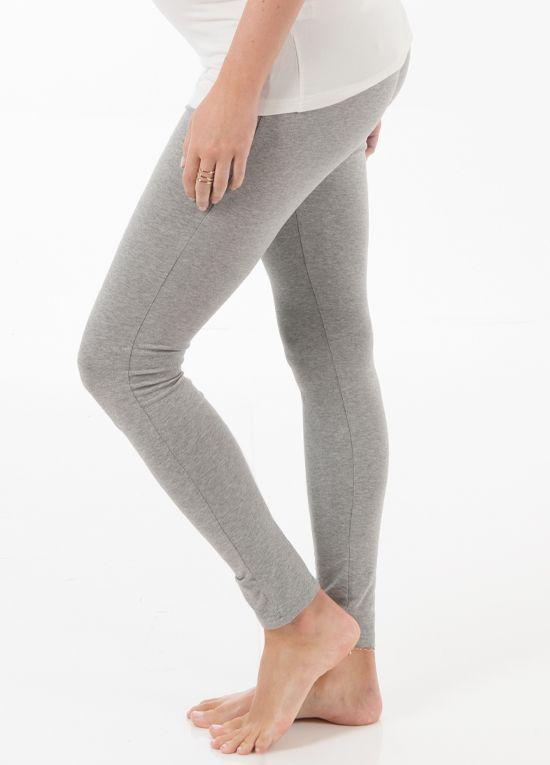 53d244117c3c5 Trimester™ - Oasis Long Maternity Leggings in Grey | : Essential ...