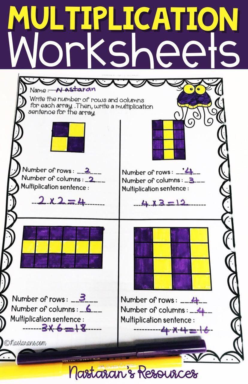 Equal Groups Worksheets 3rd Grade Multiplication Worksheets 3rd Grade Arrays Repeated Addition In 2020 Multiplication Worksheets Repeated Addition Multiplication