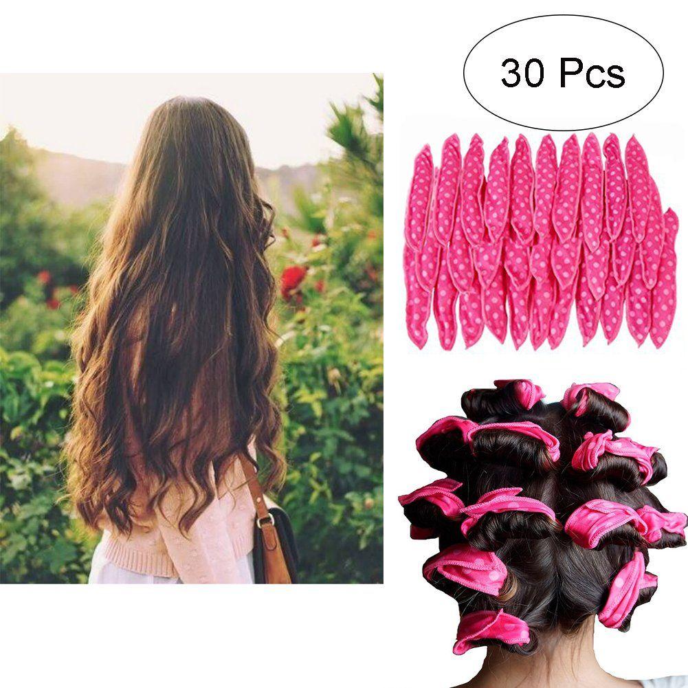 Hair Rollers Night Sleep Foam Hair Curler Rollers Flexible Soft Pillow Hair Rollers Diy Sponge Hair Styling Roll Hair Rollers Hair Curlers Rollers Hair Curlers