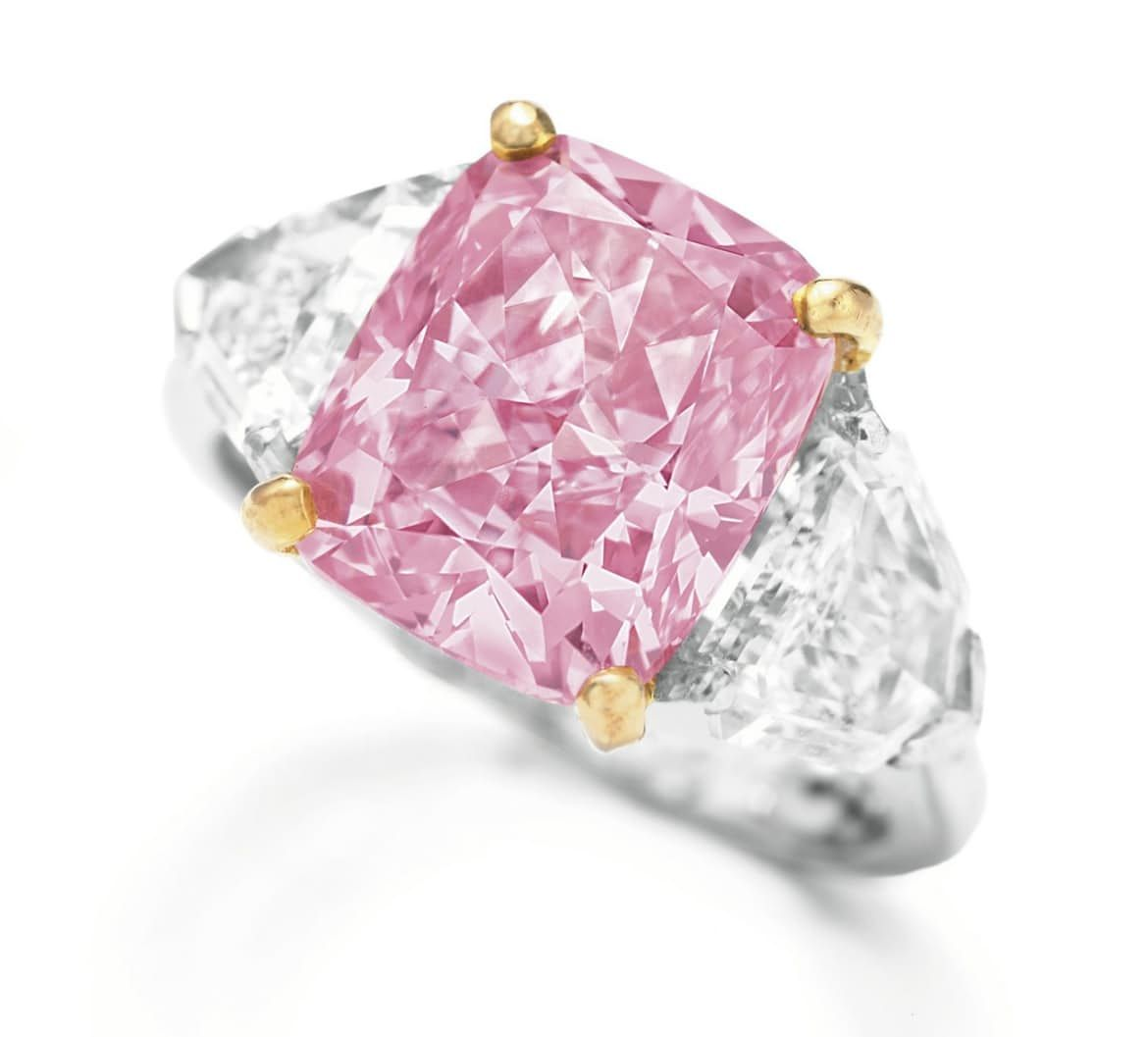 The Vivid Pink by Graff – $11.8 Million - 5 Carat Pink Diamond and ...