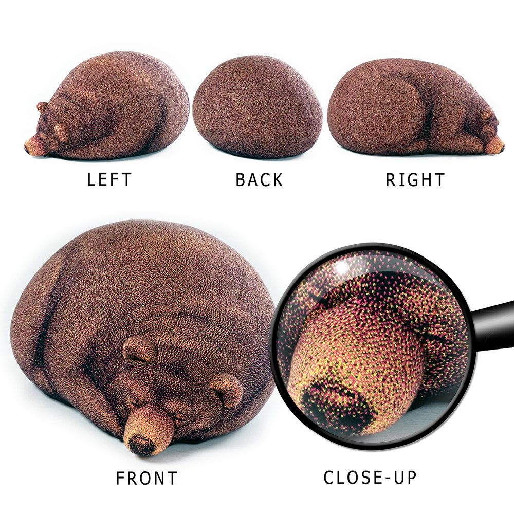 großen sleeping grizzlybär sitzsack | sleepy bear bean bag chair, Wohnzimmer dekoo