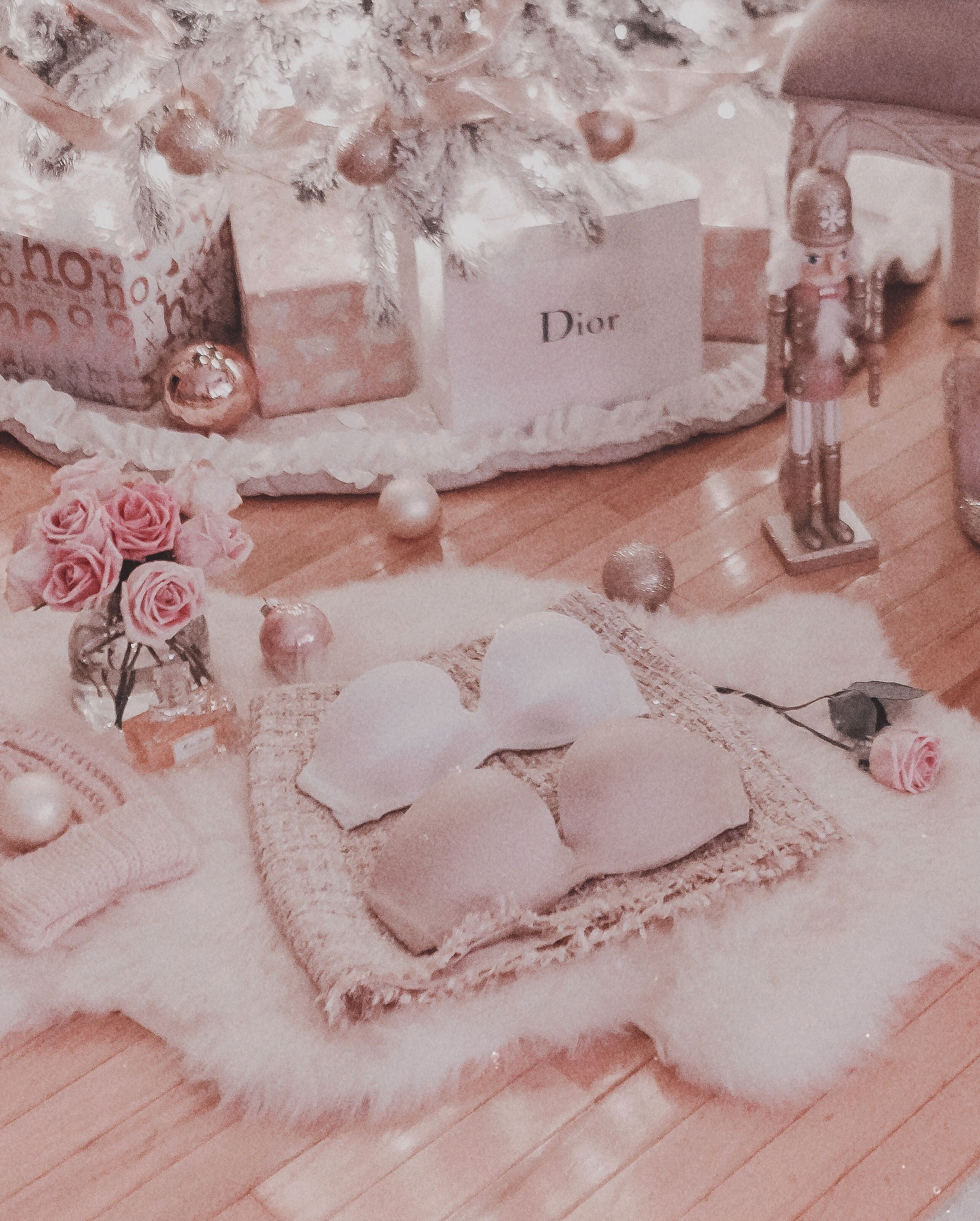 December Pink Aesthetic Christmas Aesthetic Pink Christmas