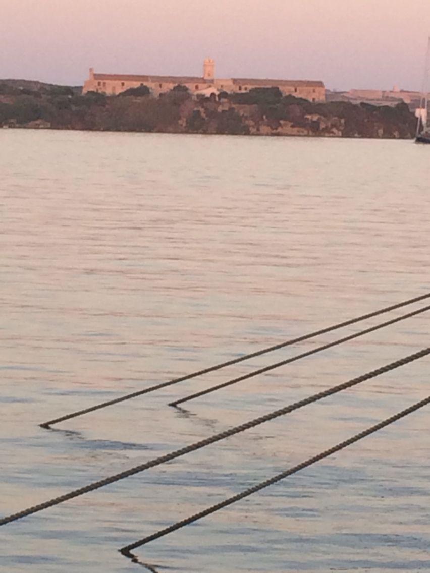 Isla del Rey, port of Mahón, Menorca, Balearic Islands, Spain. Photo by Ana Bustelo