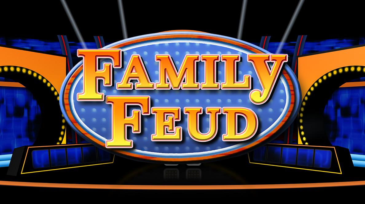 Family Feud | Rusnak Creative FREE PowerPoint Games | Family feud, Family feud game, Family feud template