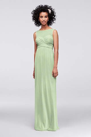 Long Bridesmaid Dresses & Full Length Gowns | David\'s Bridal ...