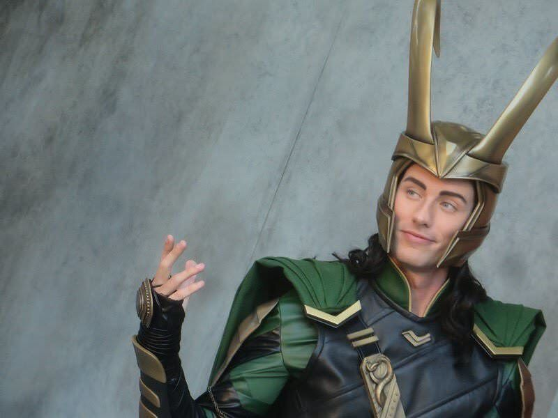Disneyland Loki is serving looks #handsome #hot #sexy