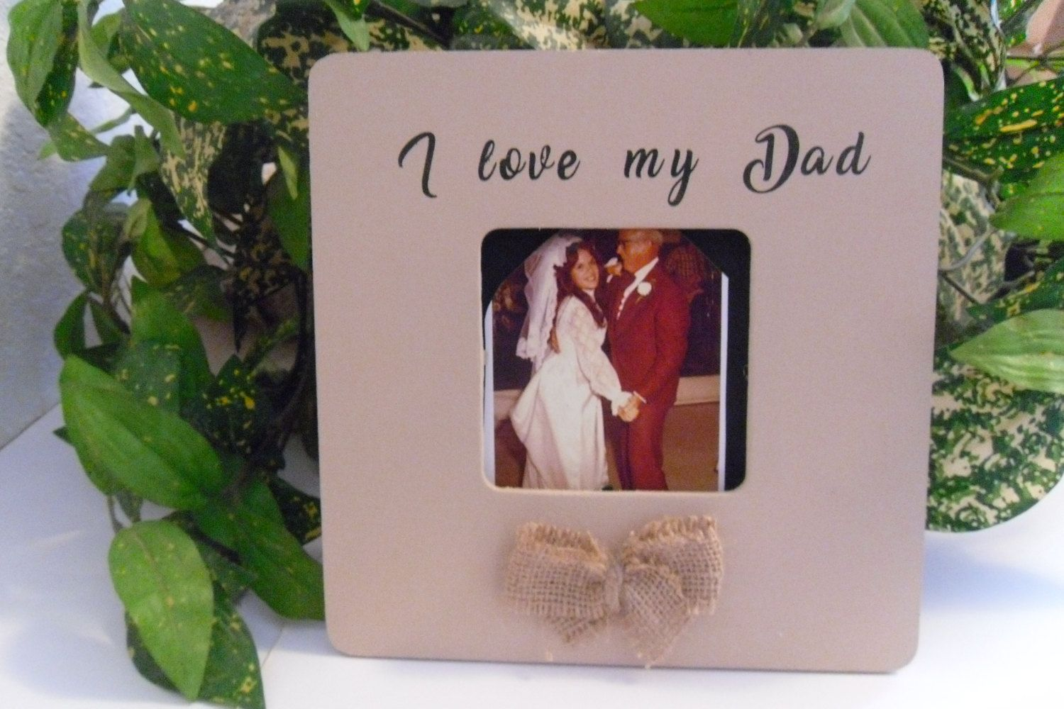 I Love My Dad Frame Wedding Frame Daughter And Father Great Gift