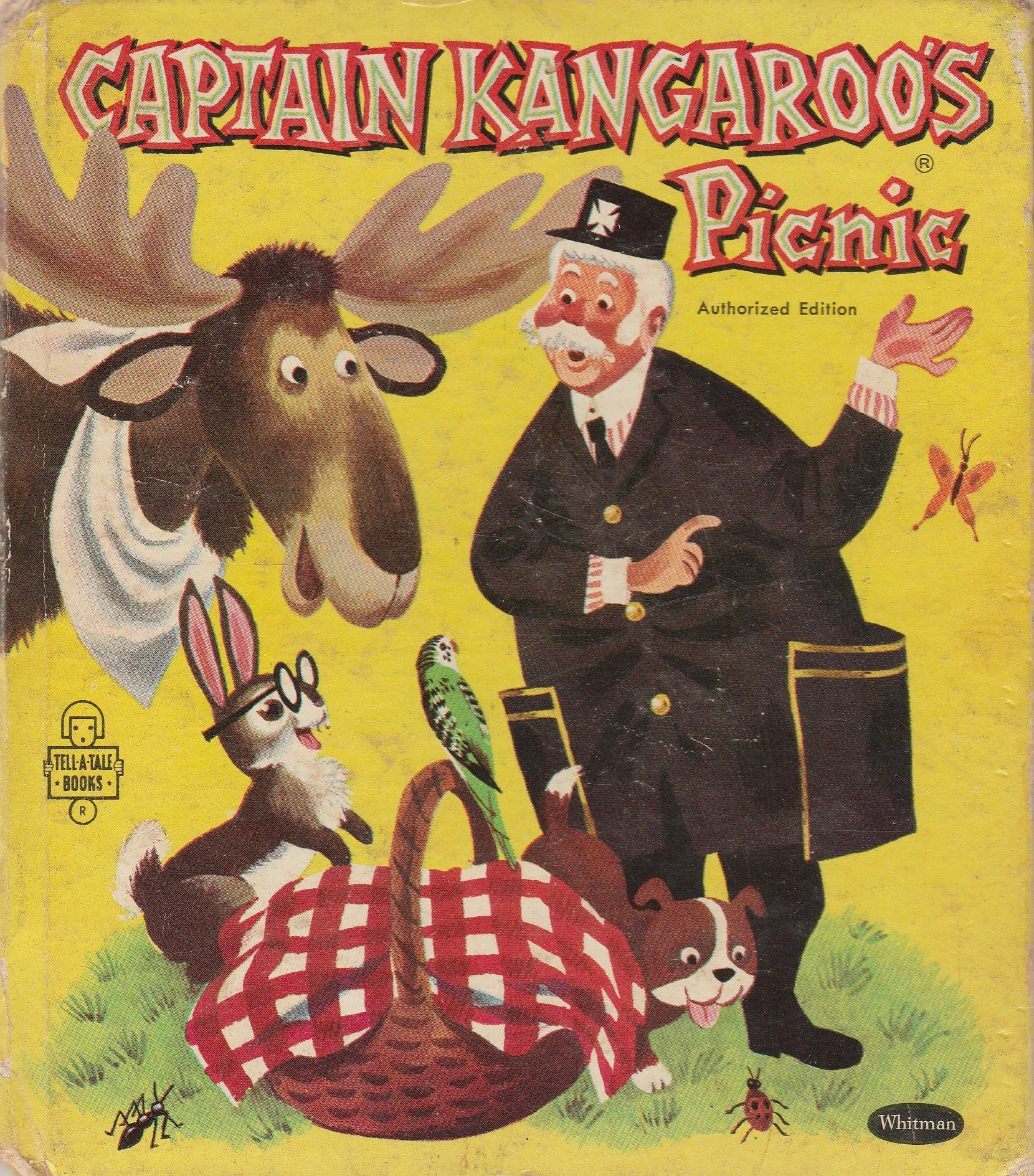 Captain Kangaroo's Picnic By Mary Voell Jones 1959 Whitman