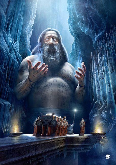 Hall of Valhalla - the great hall of the slain warriors - Norse mythology
