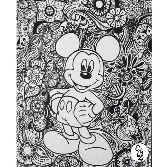 Mickey And Minnie Design By Byjamierose On Etsy