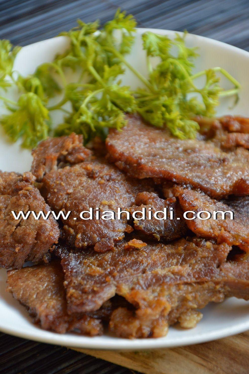 Empal Gepuk Resep Masakan Resep Daging Makanan Dan Minuman
