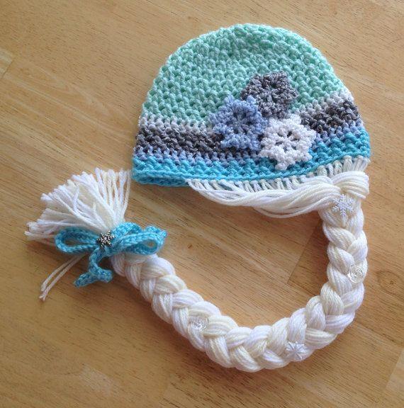Ice Queen Crochet Hat Pattern | Patrones de sombrero, Gorros y Patrones