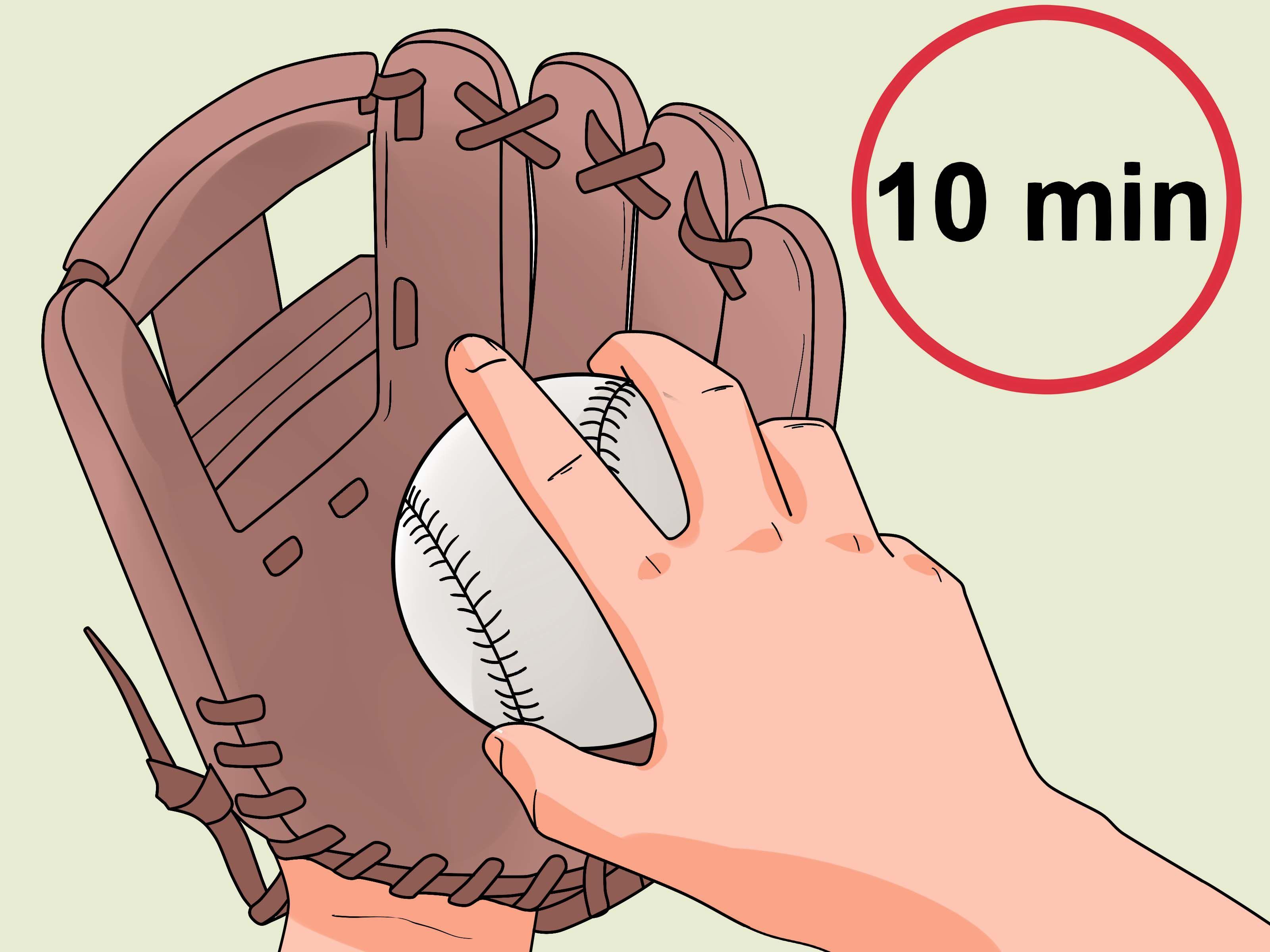 How To Break In A New Baseball Glove Break In Baseball Glove Baseball Glove Espn Baseball