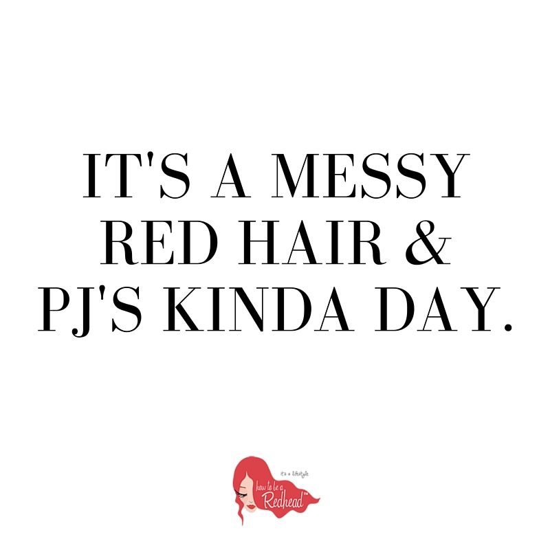 Redhead sayings and quotes