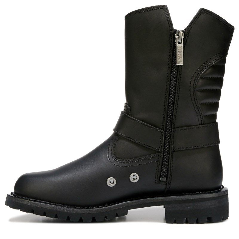 Men's Dunleer Lace Up Boot | Products | Black leather boots