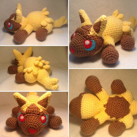 Pokemon inspirado: Poochyena Amigurumi Crochet por TheTallGrass ...