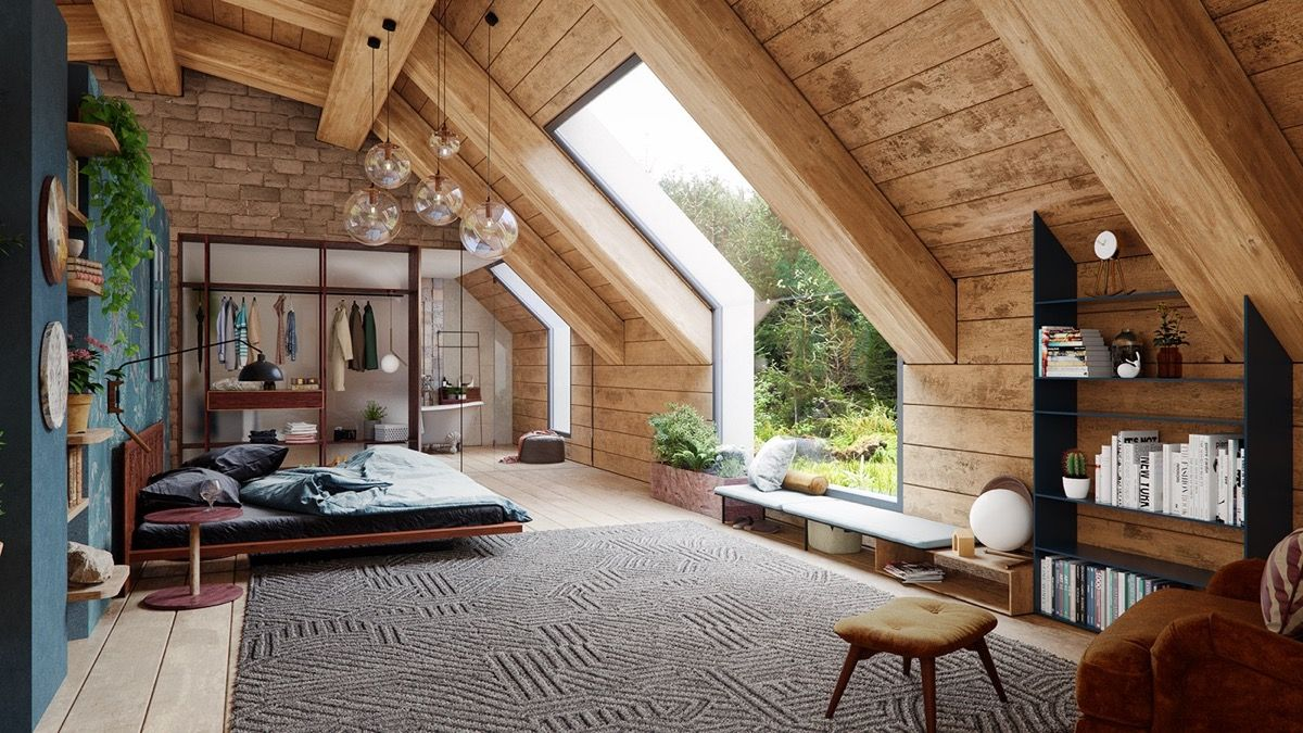 A Cozy Modern Rustic Cabin In The Trees With Images