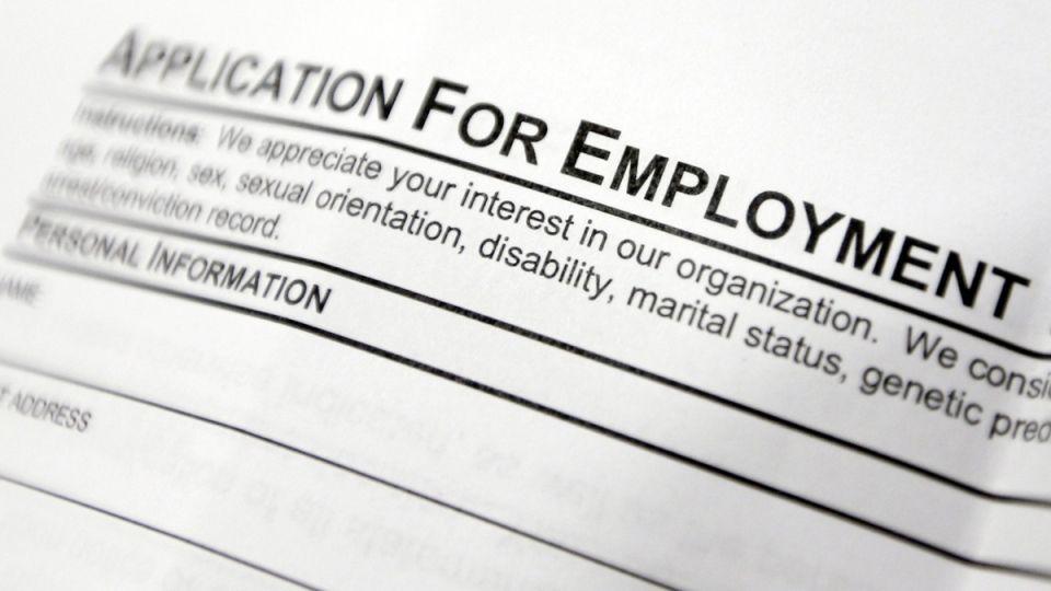 Employment Application Form  Labour Market Information