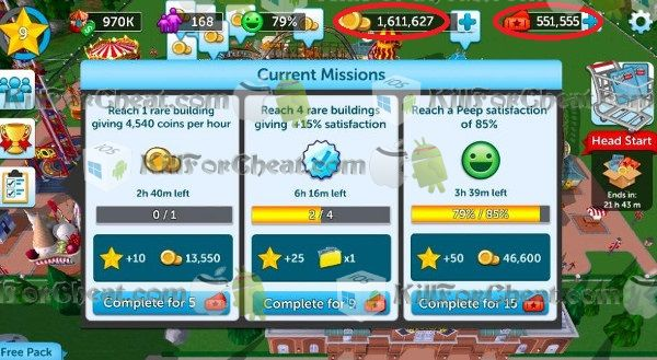 RollerCoaster Tycoon Touch Hack APK, RollerCoaster … | http