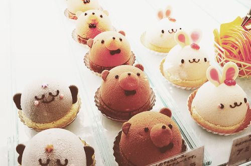 Cute animals sweets