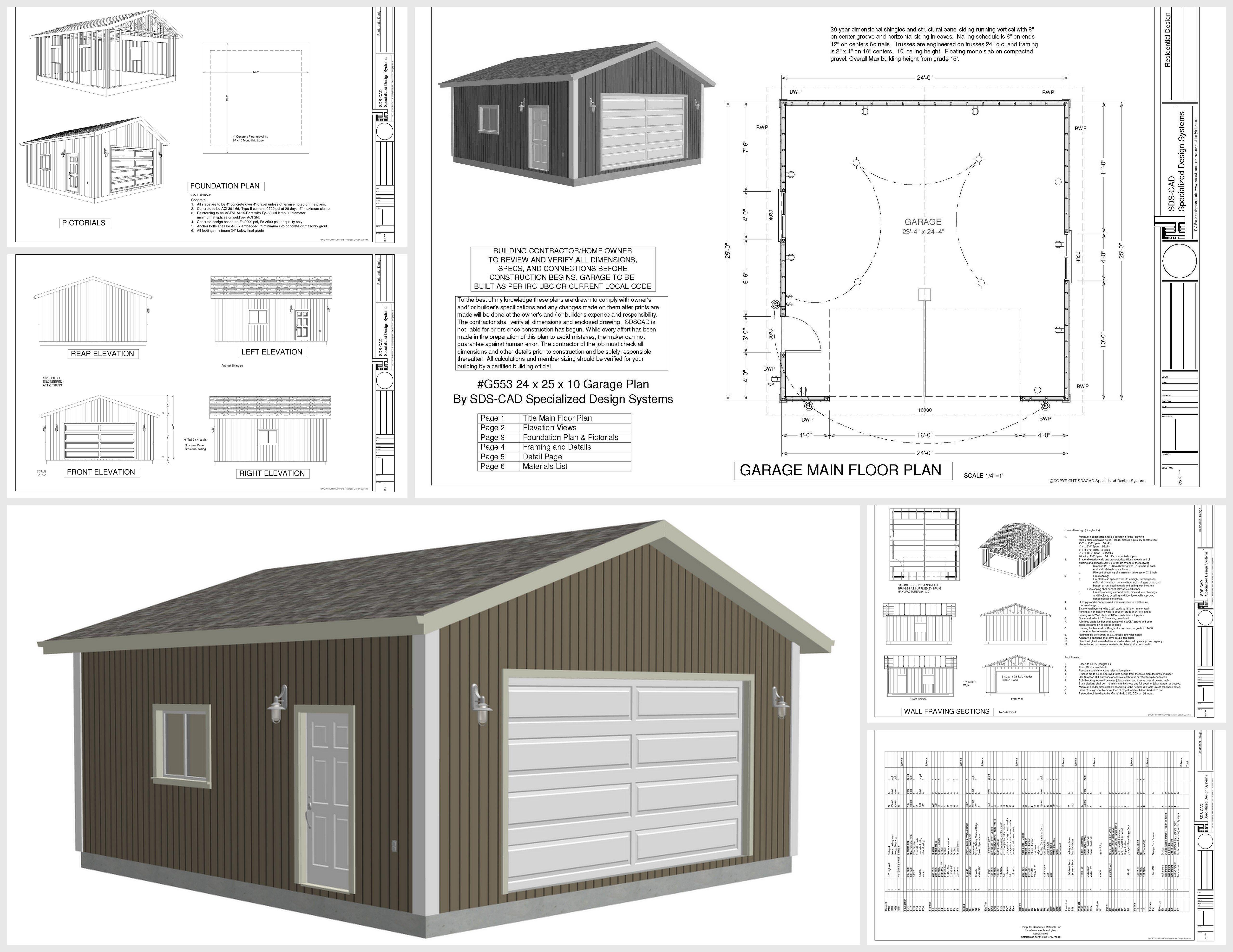 Carriage House Plans Detached Garage Plans Garage Plans Garage Shop Plans Downloadable Woodworking Plans