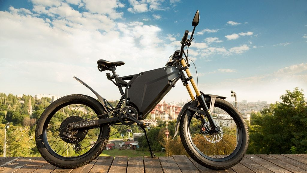Delfast The E Bike That Can Go For 236 Miles On One Charge
