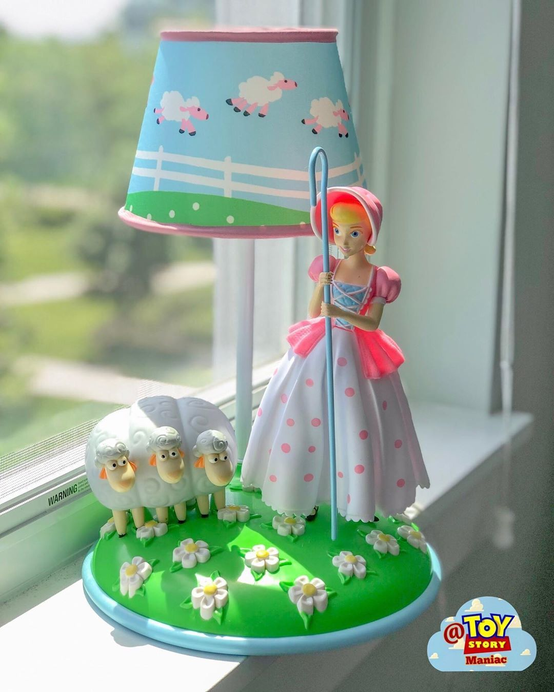 Toystory Maniac On Instagram This Is One Of The Most Stunning Piece That I Have In My Collection This Bo Peep Lamp Is Ev Toy Story Room Bo Peep Toy Story