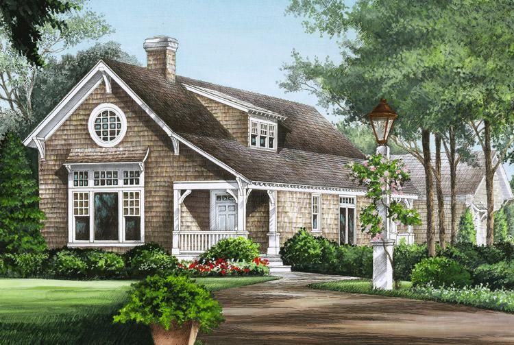 House Plan 7922 00076 Traditional Plan 2 125 Square Feet 3 Bedrooms 2 5 Bathrooms Cottage House Plans Cottage Homes Beach House Plans