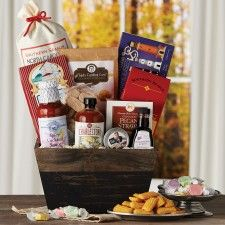 Southern Sensations Gift Box This basket is sure to impress with a selection you're