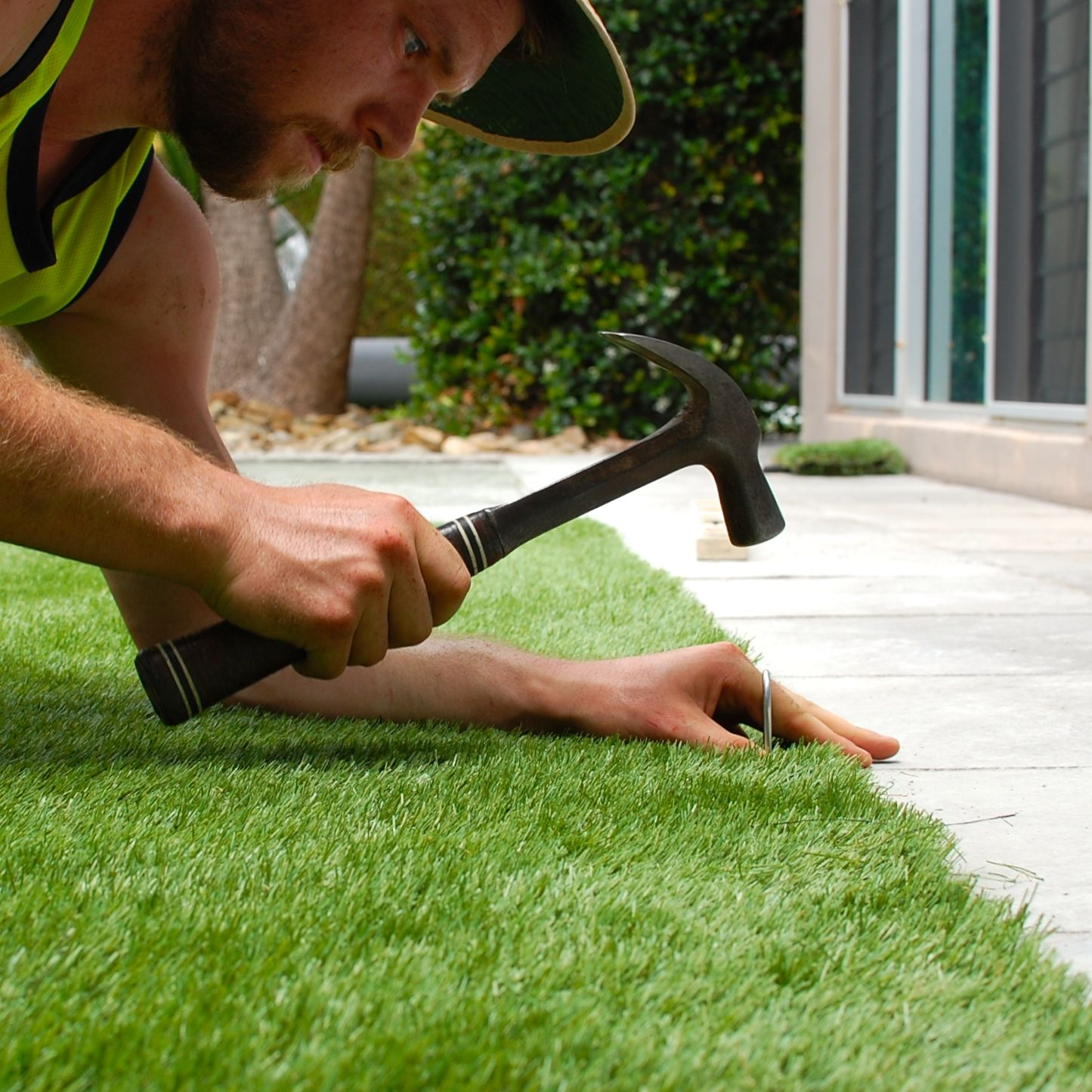 Garden Ideas To Replace Grass replacing lawn with fake grass | redcliffe style | pinterest