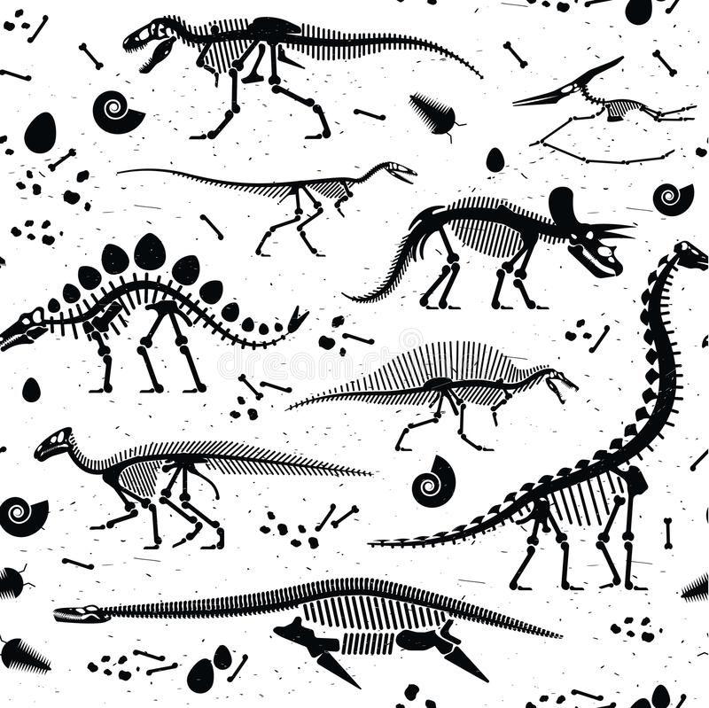 Image result for dinosaur skeletons #dinosaurillustration