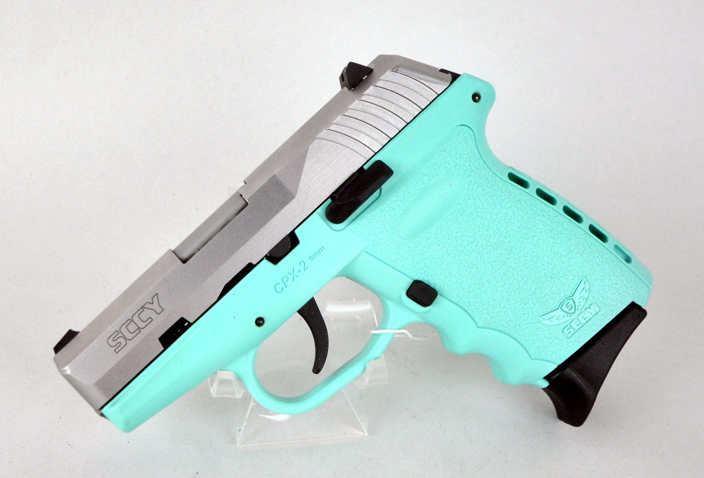tiffany blue pistol - HD2263×1537