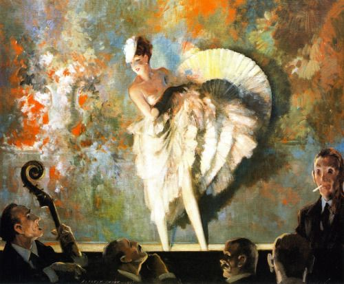 French Vaudeville - Everett Shinn 1917