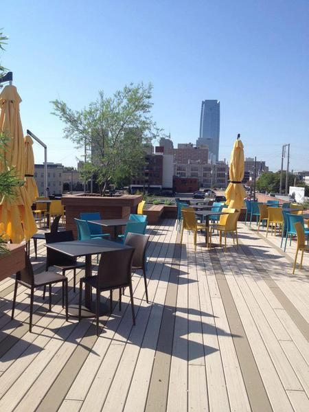 Packards New American Kitchen Rooftop Patio Yes Okc