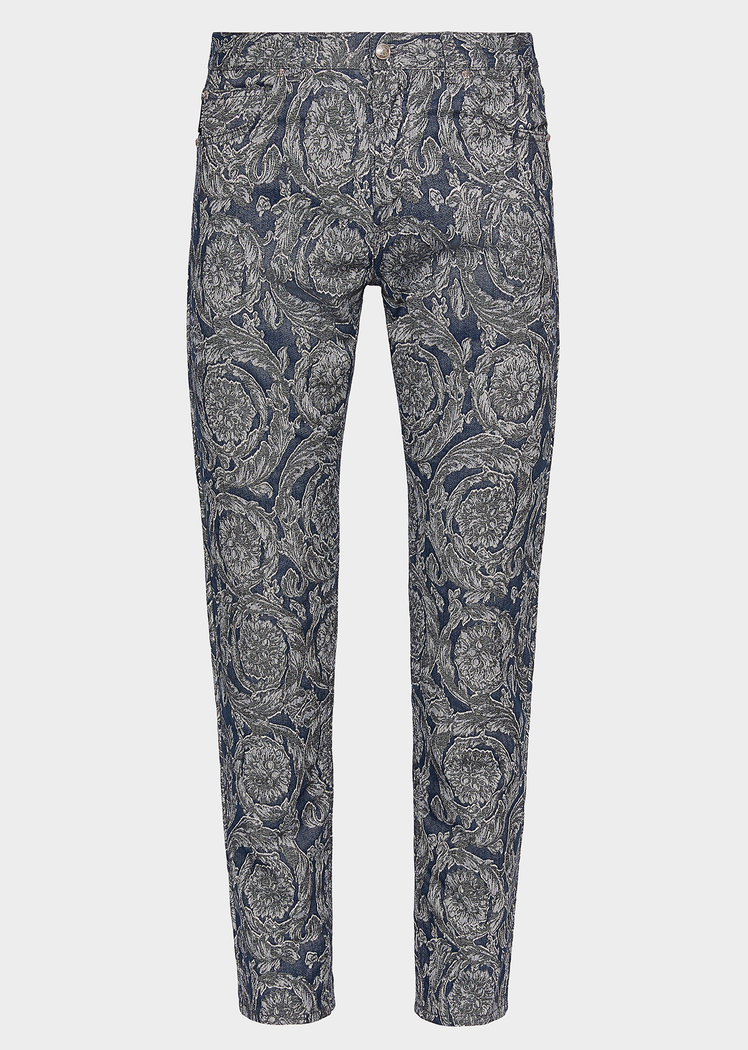8e6a8a79fa Barocco Print Jeans for Men | UK Online Store in 2019 | MERCH ...