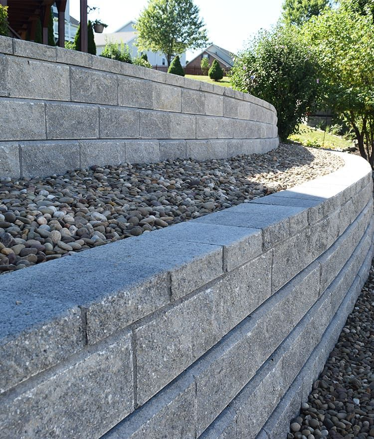 Allan Block Retaining Wall How To Build Retaining Wall